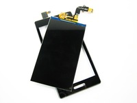 Replacement LCD Display + Touch Screen Digitizer with Frame for LG Optimus L9 P760 P765 P768 Black
