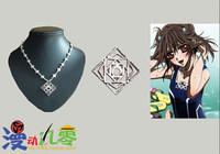 CostumeOK Vampire Knight Cross Necklace Vampire Knight Yuki Cosplay Necklace NEW