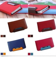 6 Color Hot Stand Wallet Leather Case Cover For Samsung i9300 With Strap WHD21