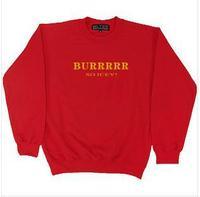 2014 men/women's black famous brand hoodie burr sports 1686