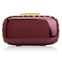Bags 2014 women's handbag fashion elegant evening bag rivet  day clutch fashion chain bag small bag bridal wedding purse