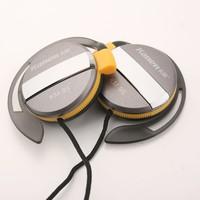 Kanen KM-95 3.5mm Stereo Ear-hook Earphone Gray