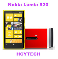 Refurbished Original Nokia Lumia 920 8.0MP camera 4.5 inch Touchscreen 32GB ROM dual core windows os LTE NFC  free shipping