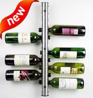 Stainless steel wine rack theroom wall tubular theroom fashion theroom wine rack wine rack