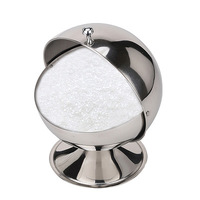 Quality stainless steel spice jar fashion sambonet sugar bowl spices cup seasoning box kitchen utensils