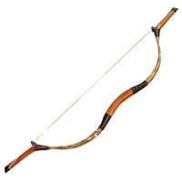 classic design bow&arrow archery recurve bow china traditional stylish hunting bow XG-007 50lbs
