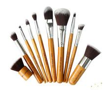 wholesale bamboo cosmetic brushes