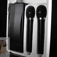 FREE SHIPPING DHL Handheld ktv wireless microphone cordless wireless