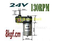TAKANAWA  DC geared   motor 12V 24V Metal gear motor car  Model  hand generator