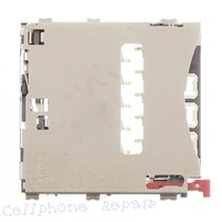 HK free shipping 10pc/tvcmall SIM Card Reader Contact Replacement for Sony Xperia Z1 L39h C6903 Honami (OEM)