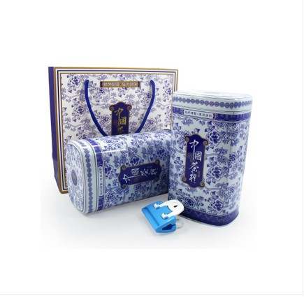 Flavor tieguanyin blue and white porcelain 500 gift box tote box,perfumes 100 original ,Products Gift Packing weight loss(China (Mainland))