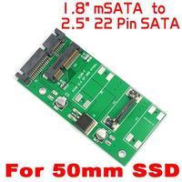 "mSATA to SATA Adapter PCI-E To 2.5"" SATA II SSD Adapter PCI-E SSD to 2.5"" SATA 22 Pin Converter 1.8"" to 2.5"""