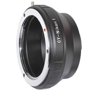 CY-Nikon 1 Lens Adapter Ring for Contax Yashica C Y CY Mount Lens to Nikon 1 Mount J1 V1 Camera body
