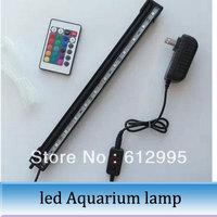 1pc 31cm Remote control LED aquarium lamp amphibious tank dive light dragon fish blood parrot water weeds lighting
