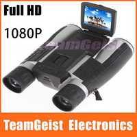 NEW Arrival Full HD 1080P 2.0 LCD display Digital 12x32 Binocular 5.0MP Camera DV Telescope for Tourism Outdoor 1000m recorder
