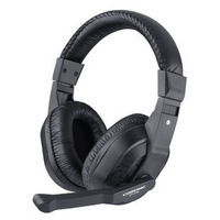 Wholesale!High quality stereo headset computer radio headphone+voice microphone sport headset wholesale earphone