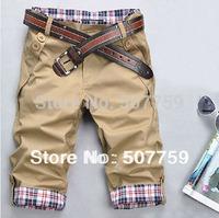 Free Shipping 2014  fashion leisure seven for men shorts