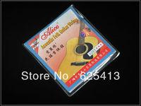 LW5118 10 set/lot (6 strings/pack)  Acoustic Folk Guitar Steel Strings Alice A203 (011-052) Super Light Phosphor