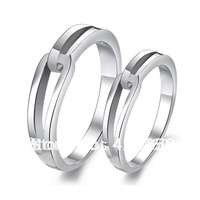 2014 Mount Rhinestone Bands Trendy Lovers' Tension Mount Plant Hot Lover's Hug Couple 925 Ring Engagement Rings R5905