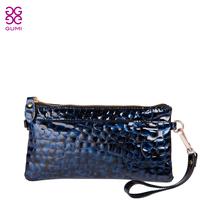 2013 women's bag genuine leather wallet women's long design zipper bag coin purse cowhide female wallet bags  =Bsr505