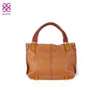 Gumi spring and summer PU fabric soft zipper one shoulder cross-body handbag all-match women's handbag  =Bsr505