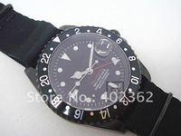 Mens Dive Watch Pro hunter Sea Gmt Naster II Ceramic Bezel Fabric Nylon Nato Strap Sapphire Crystal Watches
