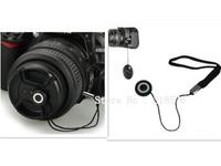 500pcs Anti-Lost Snap-on Lens Cover Cap Keeper Holder lanyard rope Strap For Digital dslr Cameras