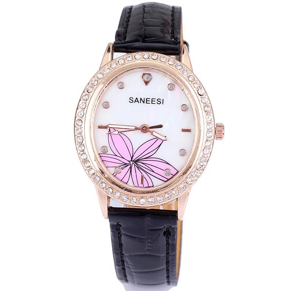 Gratis verzending 2013 vrouwelijke horloge mode trend van de diamant