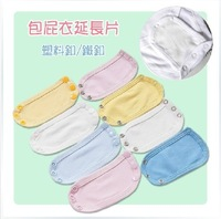 HB373 Retail Free shipping baby Romper extension piece four color Mixed batch, baby girl boy bodysuits,honey baby