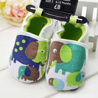 Cute elephant baby shoes/Cotton baby boy prewalker/2014 new arrival