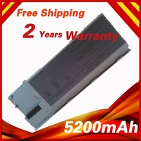 NEW  5200mAh battery for dell d630 312-0653 451-10297 451-10298 451-10299 451-10421 451-10422  JD616 JD634 JD648 JD775 JY366
