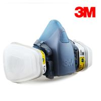 3m7502 6002 piece set face mask acid masks