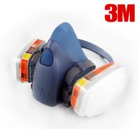 3m7502 6009 piece set mercury vapor chlorine face mask