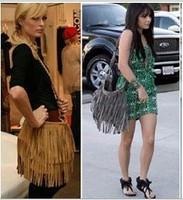HOT!!!2013 women's TASSEL CROSS BODY BAG handbag vintage fashion one shoulder  messenger bag