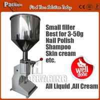 5ml 10ml 15ml  20ml 25ml 30ml 35ml 40ml 45ml 50ml manual filling machine