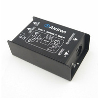 NEW IMPEDANCE CONVERTER PASSIVE DIRECT INJECTION BOX (DI BOX),WHOLESALE,FREE SHIPPPING