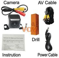 Universal Car Rearview Camera Car Backup Camera with waterproof night vision NO.CA407