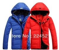 2013 New fashion men's down jacket winter coat outdoor hooded sports outerwear Free shipping