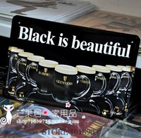"""BLACK IS BEAUTIFUL"" Vintage Wine Advertisement Tin Sign Metal Poster Beer BAR PUB CLUB HOME Wall Art Plaque Decor"