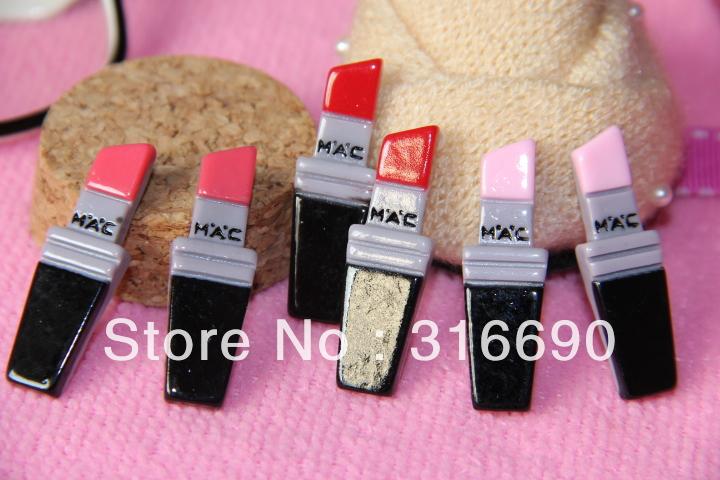 Flat back resin accessory for DIY phone decoration 18pcs(China (Mainland))