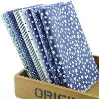 "2014 NEW 50CM*50CM 7 designs/lot ""dark blue"" Cotton Fabric Fat Quaters Tilda cloth scrapbooking Patchwork Quilting Fabric W1B3-1"