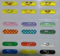 Hot!! 300pcs/lot, Cute Home Button Stickers for Samsung Galaxy Note 3 N9000 DIY phone decoration,200 styles,Free shipping