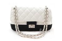 women messenger bags 2014 new brand fashion patchwork chain shoulder bags anti-theft hidden bags