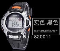 wholesale!Digital Watch Sports Alarm Stopwatch Watches fashion Waterproof Childrens Wristwatches Women Men Student,free shipping