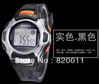 wholesale!Digital Watch Sports Alarm Stopwatch Watches fashion Waterproof Childrens Wristwatches Women Men Student,free shipping