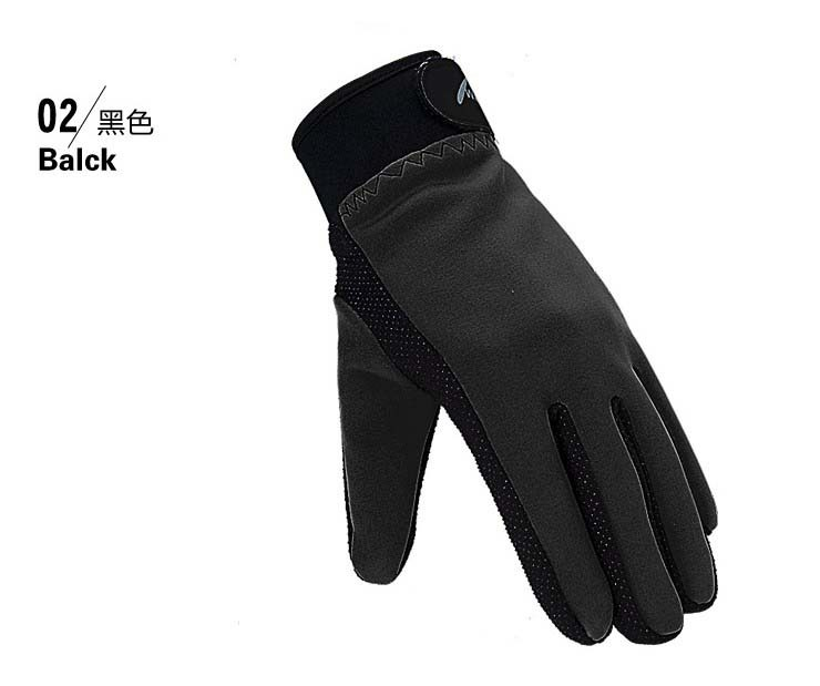 Outdoor autumn winter warm fleece Colloidal particles gloves thermal wincey cold proof mountain hunting sports for