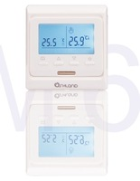 free shipping M6 Weekly Programming Thermostat with LCD Screen M6.713 Heating thermostat  +Electric actuators