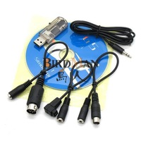 Free shipping New 12 in 1 USB Simulator Cable Support FMS G4/G4.5/G5 XTR AeroFly RC RealFlight