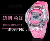 low shipping cost !!Digital Watch Sports Alarm Stopwatch Watches fashion Waterproof Childrens Wristwatches Women Men Student