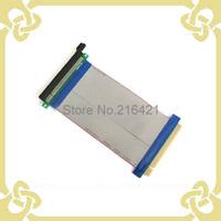20CM PCI-E PCI E Express 16x Riser Card Flexible Ribbon Extender Cable for Video Card Bitcoin Miner